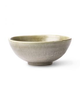 Kyoto ceramics: rustic salad bowl green/grey-0
