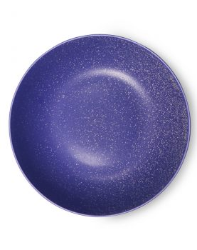 bold & basic ceramics: purple deep plate-0