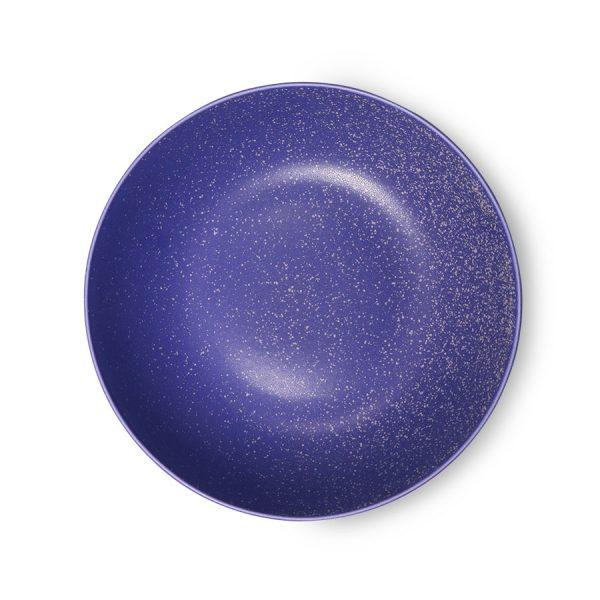 bold & basic ceramics: purple deep plate-0
