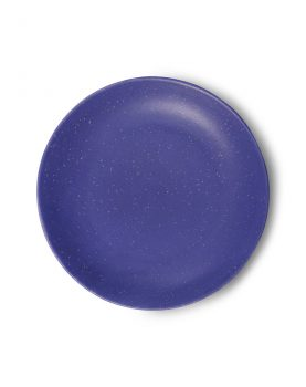 bold & basic ceramics: purple side plate-0