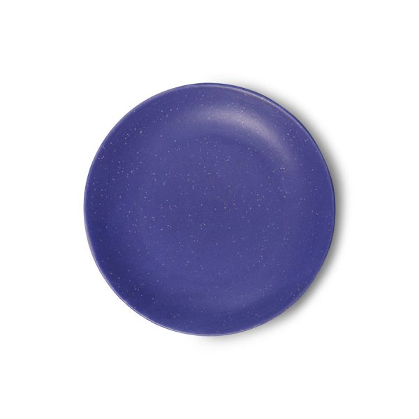 bold & basic ceramics: purple side plate-0