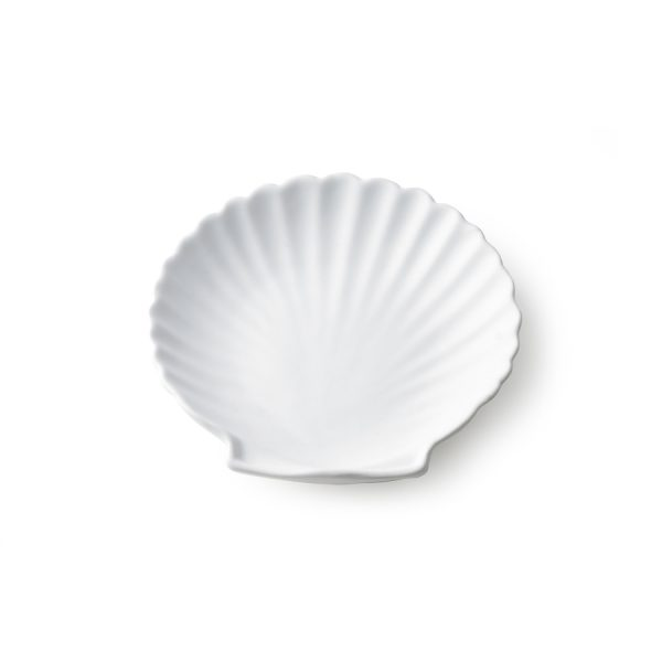 athena ceramics: shell tray white matt M-28037