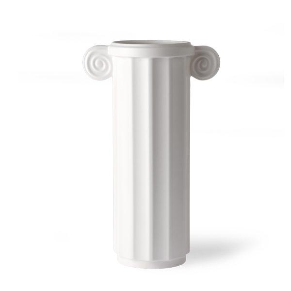 white ceramic vase greek C-0