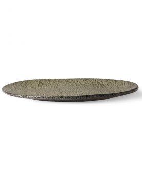 gradient ceramics: dinner plate green-28114