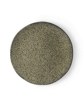 gradient ceramics: side plate green-0