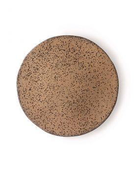 gradient ceramics: side plate taupe-0