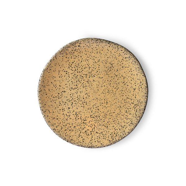 gradient ceramics: side plate peach-0