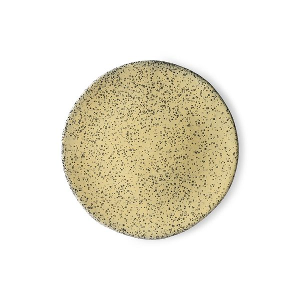 HKliving gradient ceramics: side plate yellow-0