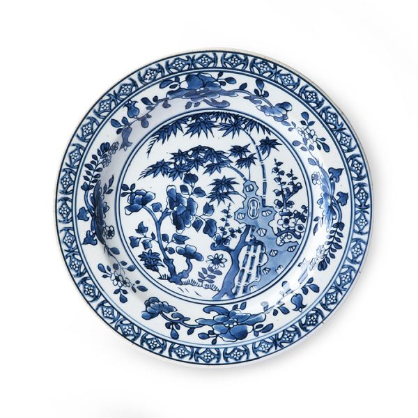 HKliving Kyoto ceramics: handpainted plate-0