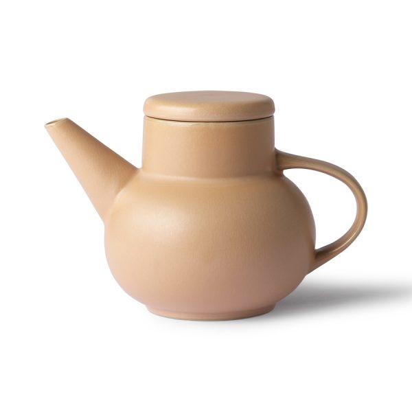HKliving ceramic bubble tea pot yellow-0
