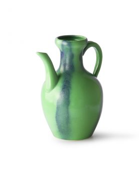 HKliving ceramic jug green/blue-28172