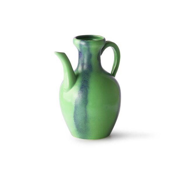 HKliving ceramic jug green/blue-28172