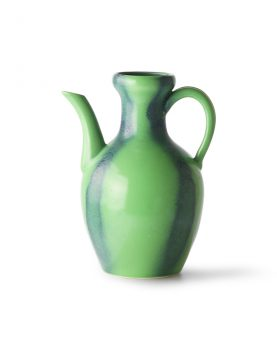 HKliving ceramic jug green/blue-0