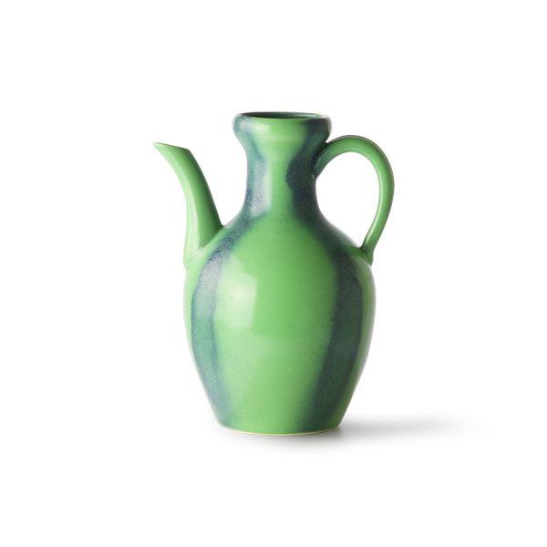 HKliving ceramic jug green/blue-0
