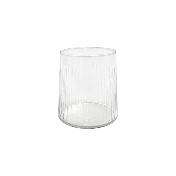 drinking glass engraved stripes-0