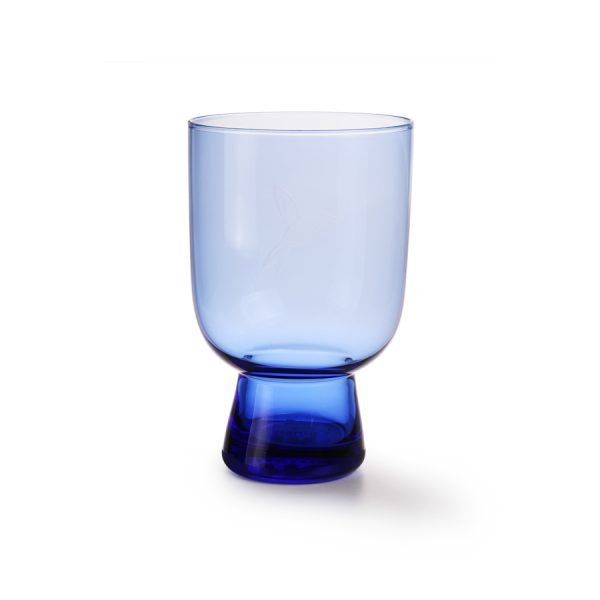cobalt glass L engraved-0