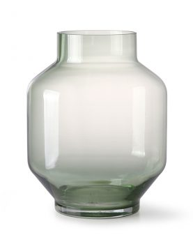 green glass vase L-0