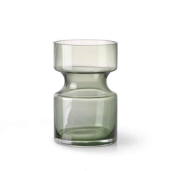 green glass vase M-0