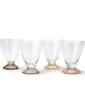 coloured cocktail glass set of 4-0