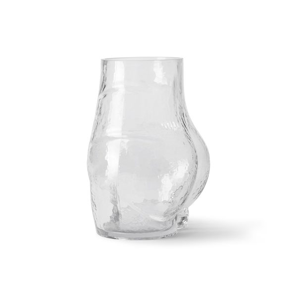 glass bum vase-28264