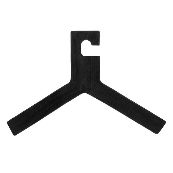 wooden clothing hanger black-0