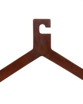 wooden clothing hanger natural-0