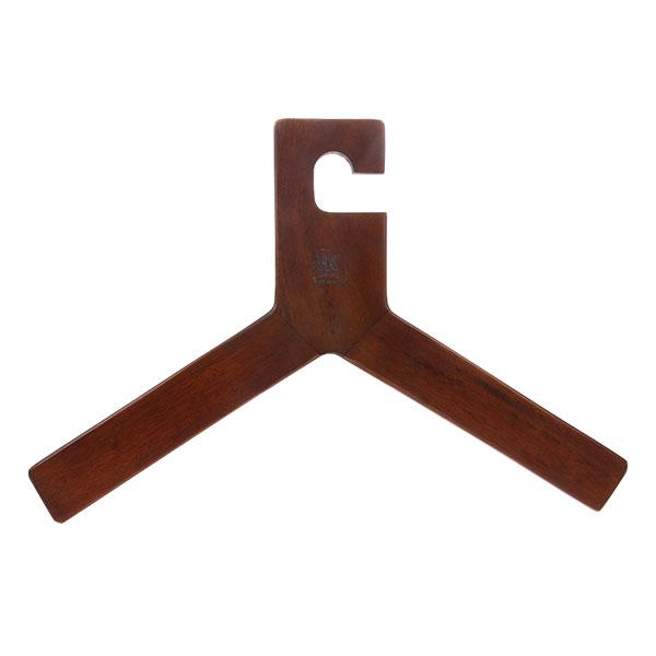 wooden clothing hanger natural-0