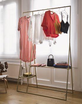 brass clothing hanger-28276