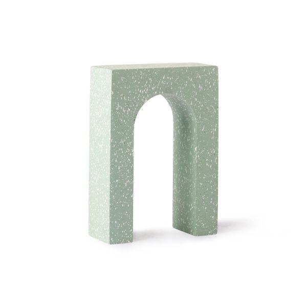 terrazzo arch ornament B mint-0
