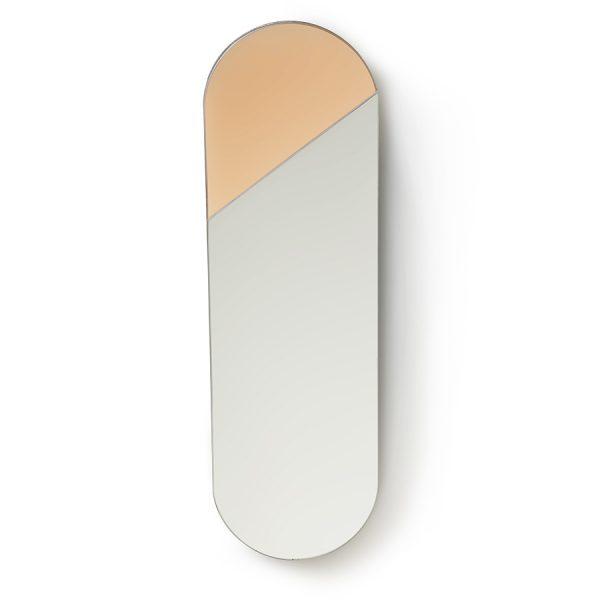 oval mirror L pink-0