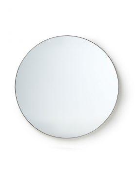 round mirror metal frame 80cm-0