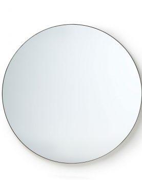 round mirror metal frame 120cm-0