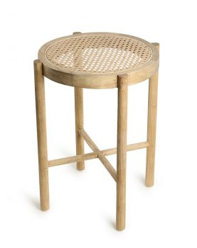 retro webbing stool natural-0