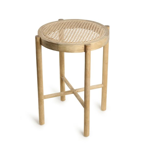 retro webbing stool natural-0