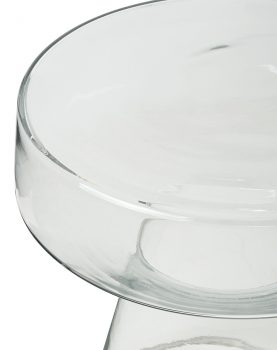 Hkliving glass side table-28581