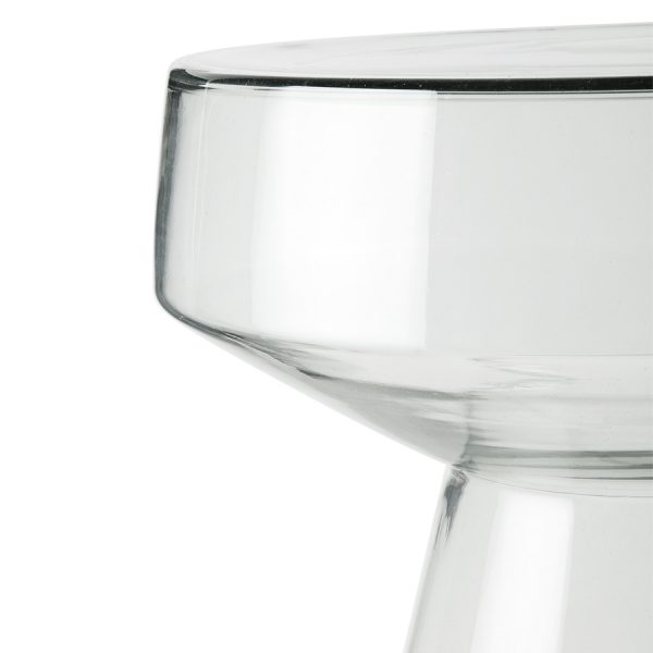 Hkliving glass side table-28582