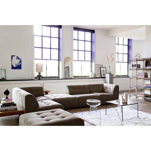 Hkliving glass side table-28583