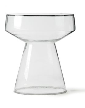 Hkliving glass side table-0