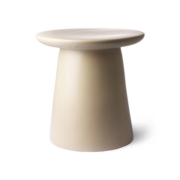 Hkliving side table earthenware MTA2823