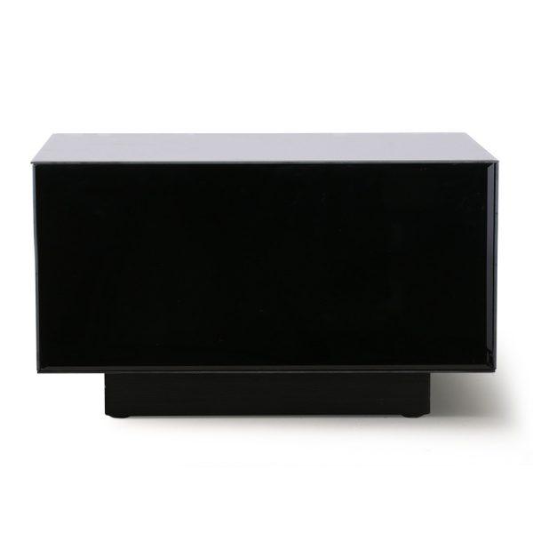 mirror block table black L-0