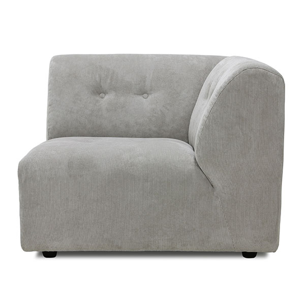 vint couch: element right, corduroy rib, cream-0