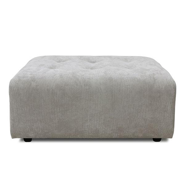 vint couch: element hocker, corduroy rib, crème-0