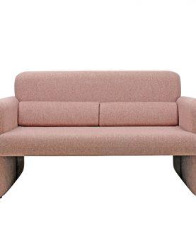 HKliving studio sofa coral red-0