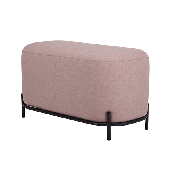 pouf 80cm old pink-0