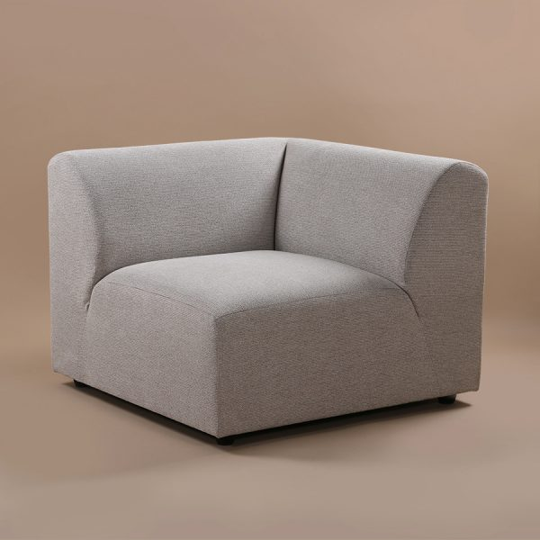 jax couch: element left, sneak, light grey-28729