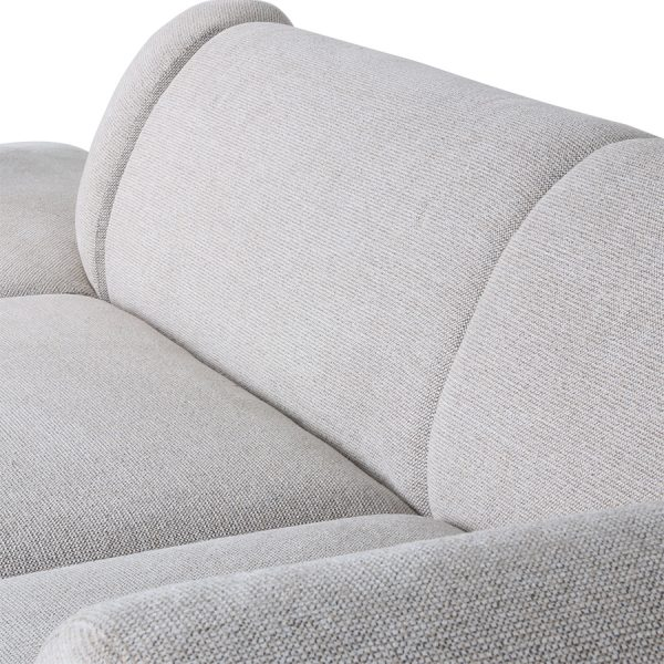 HKliving jax couch: element right, sneak, light grey-28735