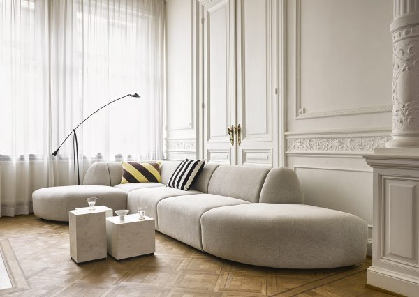 HKlivng jax couch: element angle, sneak, light grey-28747