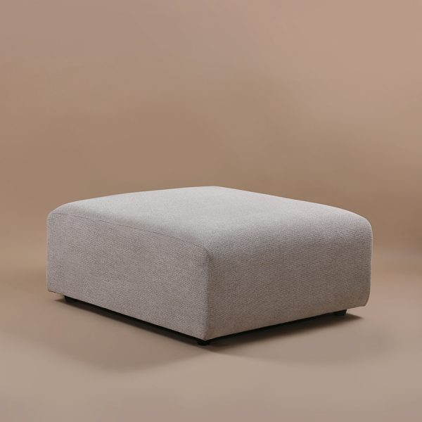 HKliving jax couch: element hocker sneak, light grey-28749