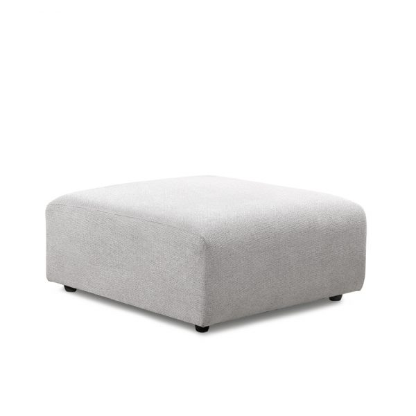 HKliving jax couch: element hocker sneak, light grey MZM4804