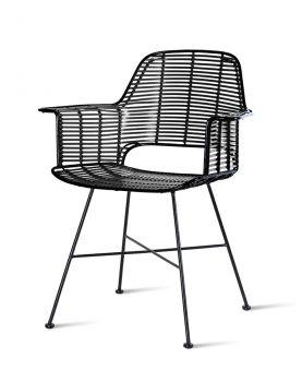 outdoor tub chair black-0